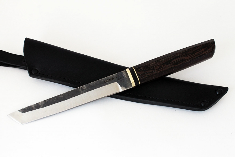Нож Танто. Х12МФ, венге