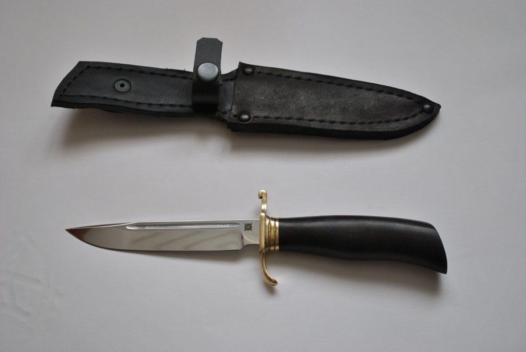 Нож-финка Норвежский. Х12МФ, граб.