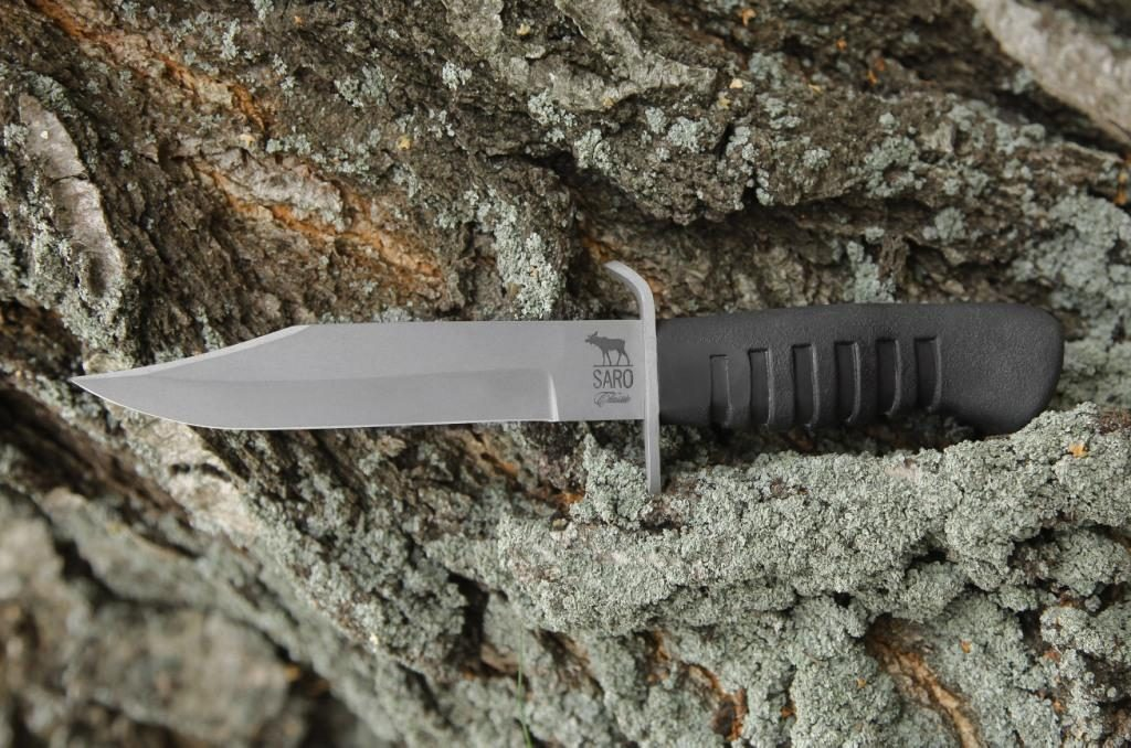 Нож разведчика НР-43. AUS6, резина.