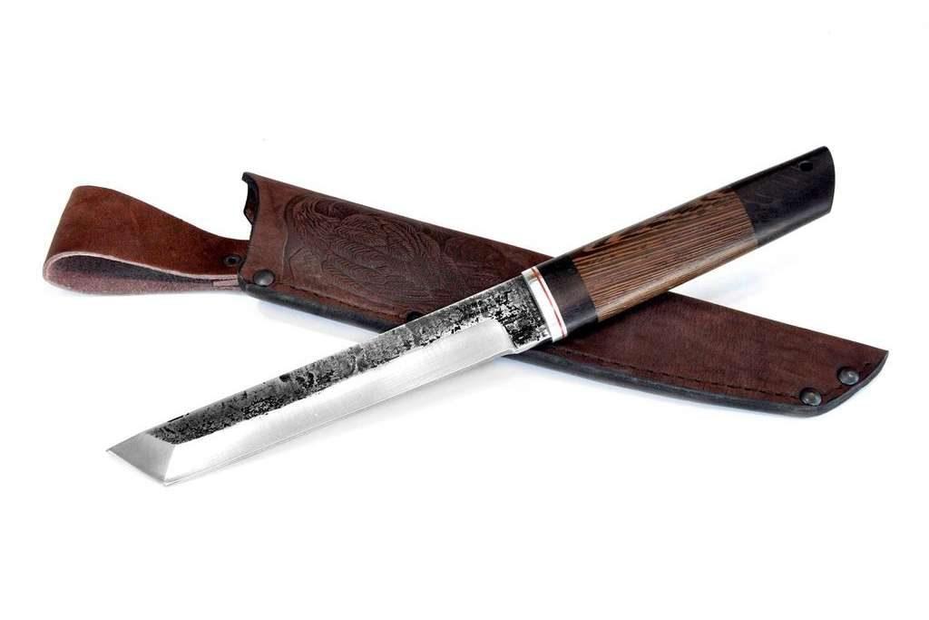 Нож Танто. Х12МФ, граб, венге.